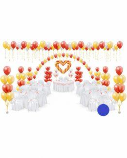 Микс свадебных шаров №16