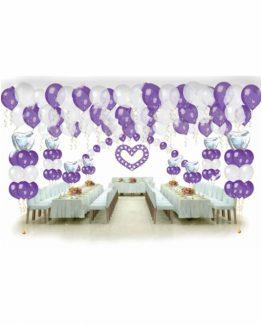 Микс свадебных шаров №2