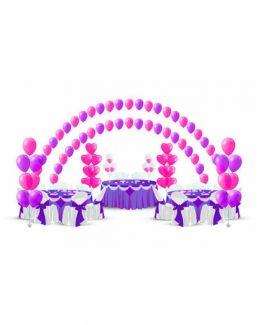 Микс свадебных шаров №3